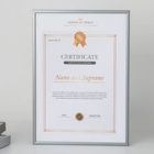 Frame Photo Photo Frame Picture Frame Design Metal Aluminium 16x20 A3 A4 A5 Certificate Frame Picture Photo Frame Wall