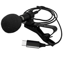 Professional Studio Interview Wired Mic TYPE-C Typ Aufnahme Live Mobile Lavalier-mikrofon