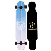 Ardea скейтборд Лонгборд для взрослых подростков девочек Россия клен натуральное дерево Ретро мода плоская пластина двойной рокер скейт доск...(Китай)