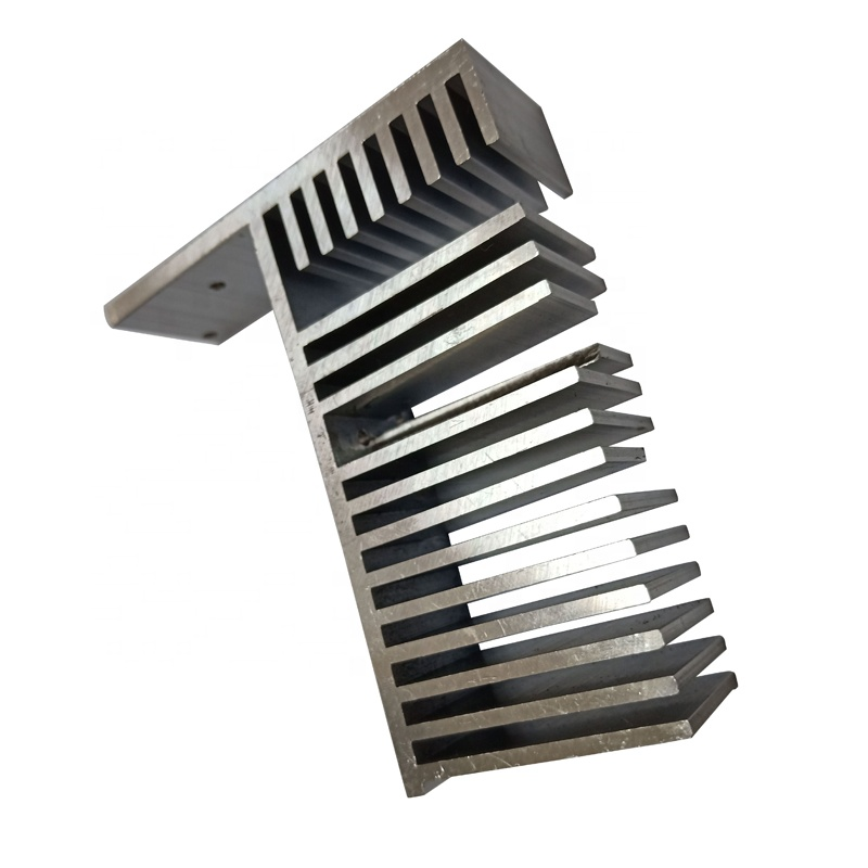 Custom High Precision Nature Anodizing Aluminum Profile Led Heat Sink