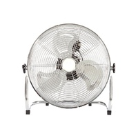 Factory Wholesale High Velocity 50W 12 Inch Galvanized Floor Fan