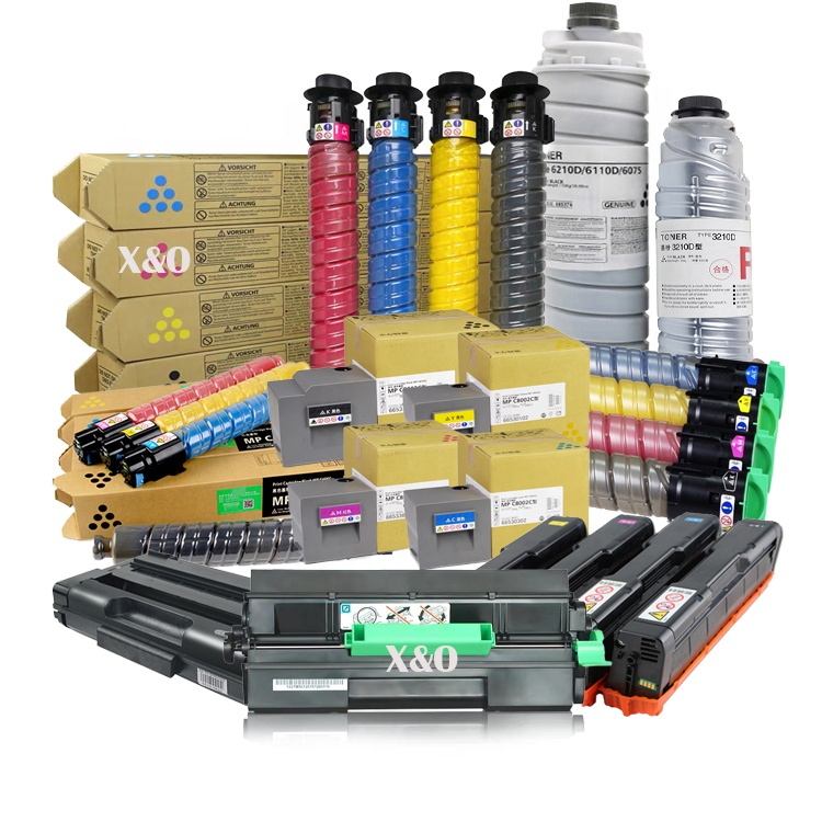 עבור Ricoh Africio SP C252/C250/C260/C352/C360/C840/C842, IM C300/C400 MPC305/306/307/406 MP401/2014/2501 מדפסת טונר מחסנית