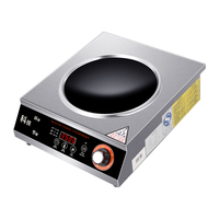 Electric Buffet Induction Wok Cooker 3500W with Free Sample