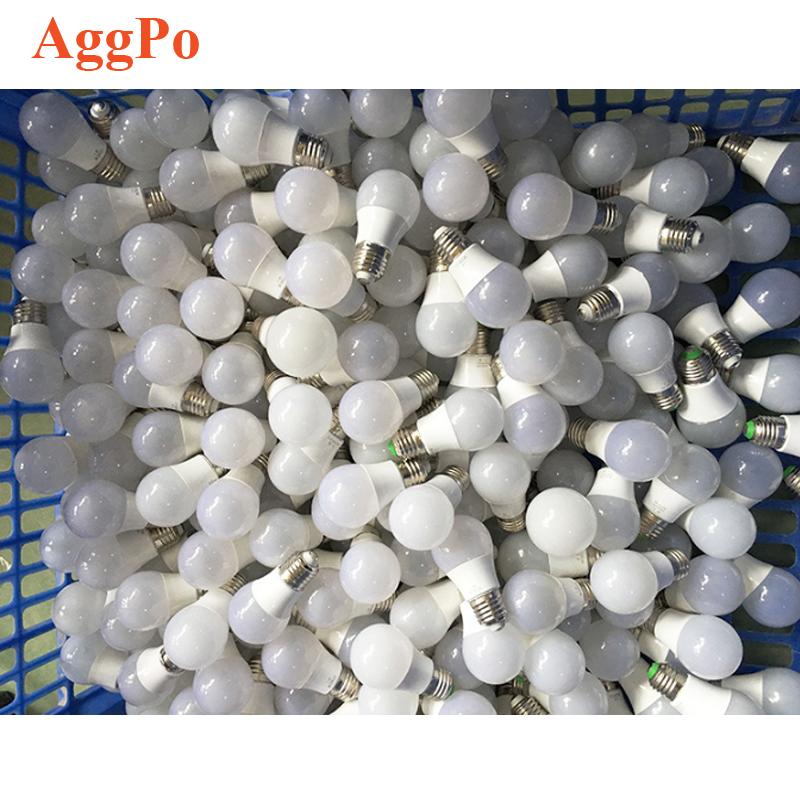Led bulb plastic wrapped aluminum 3w5w7w9w12w15w18w22w5630 lamp bead energy-saving LED bulb