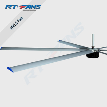 RTFANS high quality big industrial giant fan energy saving PMSM hvls fan for Malaysia