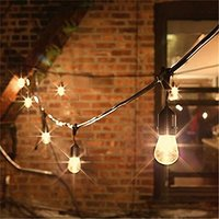 waterproof Hanging Edison LED Bulb string light outdoor led light string Wedding Festoon Garden hanging string light