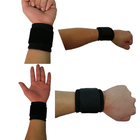 Adjustable fitness neoprene wrist strap compression wristband