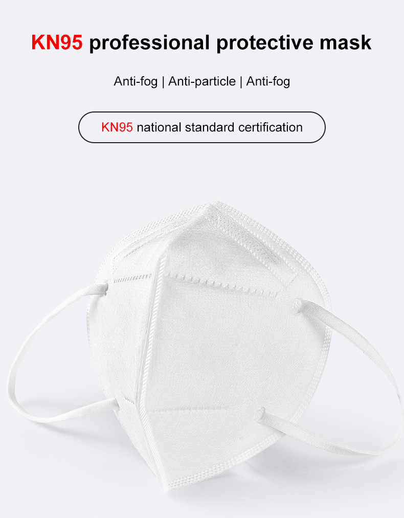 RTS Stocks Portable Respirator N95 Filter Mask KN95 Mask Particulate Respirator