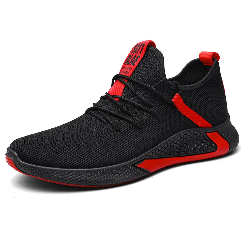 2020 spor ayakkabılar erkekler moda yeni stil siyah