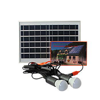 indoor solar energy products/5w 10w 15w solar home lighting kit