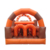 Commercial Cow Bull Inflatable Jumping Castle Bouncer Obstacle Game Course Land Mobile Wipeout Obstacles For Kids Adult