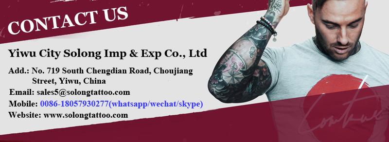 Solong Macchina Professionale Del Tatuaggio Kit 2 Pro Del Tatuaggio della Pistola Complet per la Fodera di Shader Buon Prezzo