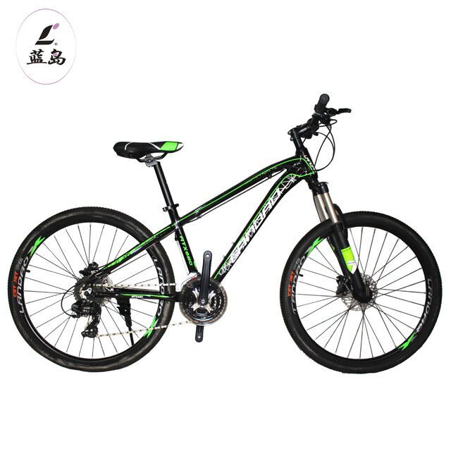 M100 NEW DESIDN MOUNTAIN RACING BIKE LANDAO BRAND ,FRAME 27.5 16 INCH ALLOY PUTTY PAINTING FORK 27.5-AL CROWN LOCKABLE FORK