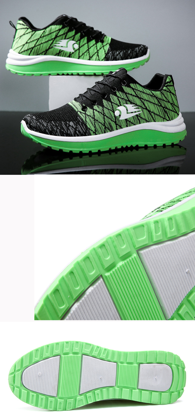 Running Trainers Sports Gym Walking Jogging Athletic Fitness Outdoor Men Sneakers Sports Shoes