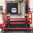 mobile Container car Truck vehicle cargo loading elevator lift platform table 2 T tons