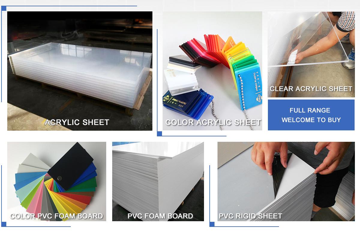 Jinan Jinbao Plastic Co Ltd Acrylic Sheet Pvc Sheet