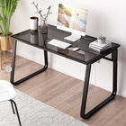 cheap office glass desk child stand with metal legs