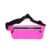 Hot sale reflective fanny pack stylish teen ladies waterproof waist bag