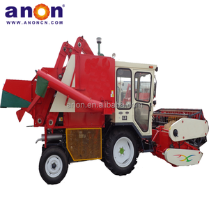 ANON AN4L-1 Farm Using Self-propelled Soybean Harvester Machine