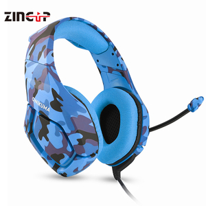 Camouflage Color Stereo Headphones With Microphone For Computer headset gamer