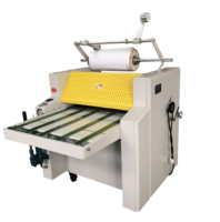 SWFM720A fast speed manual laminating machine
