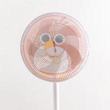 Два мультяшных чехла для вентиляторов, пылезащитный чехол, полная посылка, защитный чехол для детей, универсальный(China)