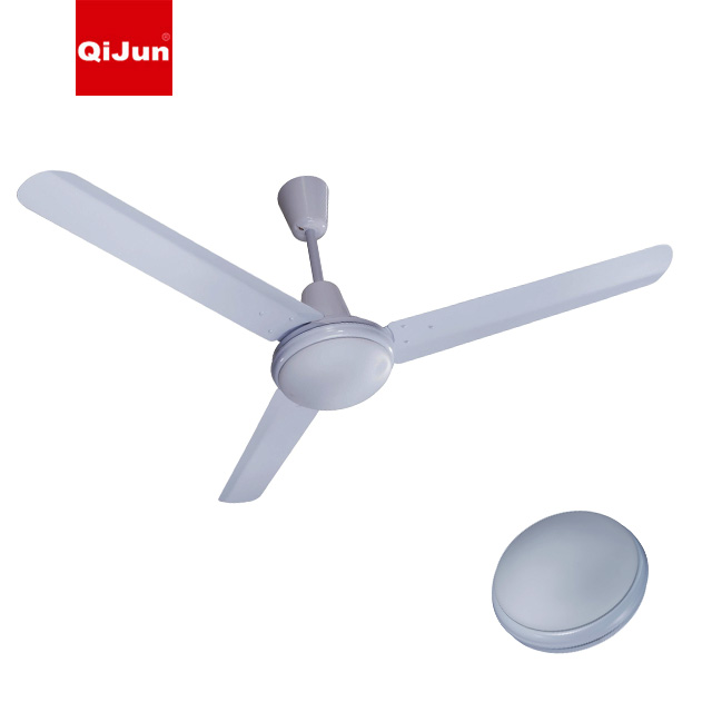 Energy Saving Industrial Fan Emergency Ceiling Fan With LED Light To Mexico Nigeria