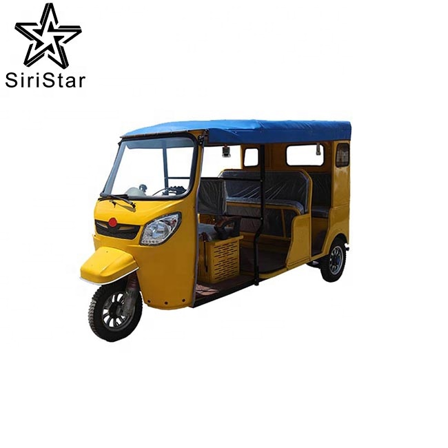 New Bajaj Three Wheel Electric Tricycle 3 Wheeler Tuk Tuk Motorcycle