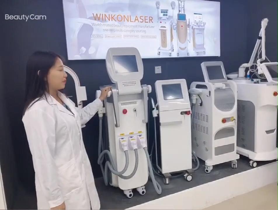 Winkonlaser 제일 분수 RF 피부 강화 얼굴 리프팅 얼굴 주름 제거제 기계 흉터 제거 마이크로 바늘 RF 기계