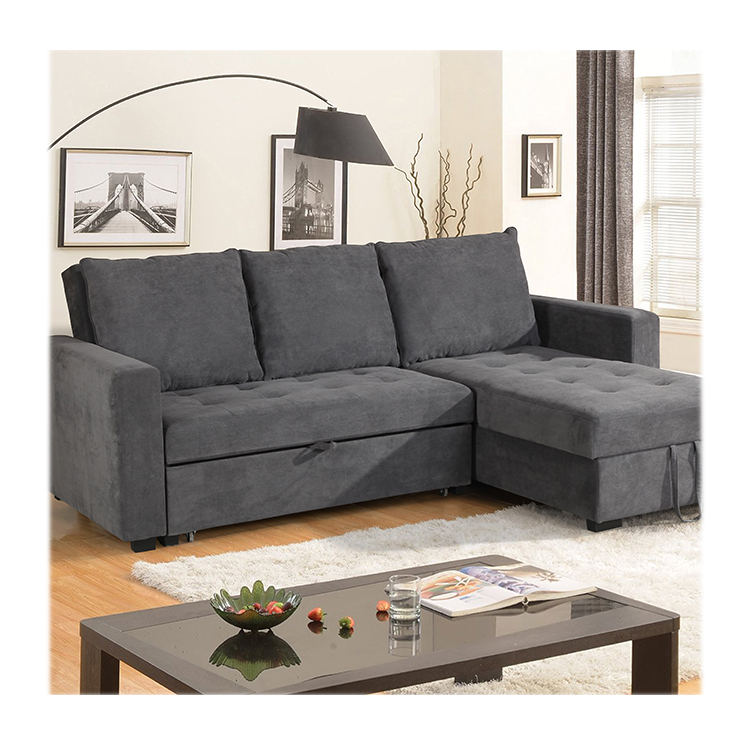 Modern tasarım kumaş çekyat yüksek kaliteli oturma kanepe cum yatak