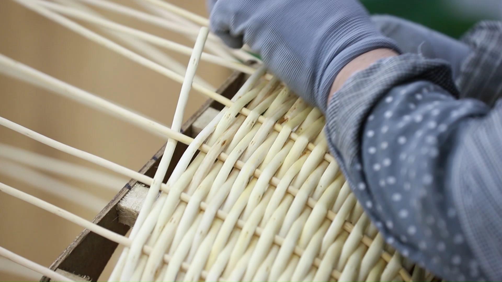 Fabricante de china de willow de almacenamiento cestas de regalo