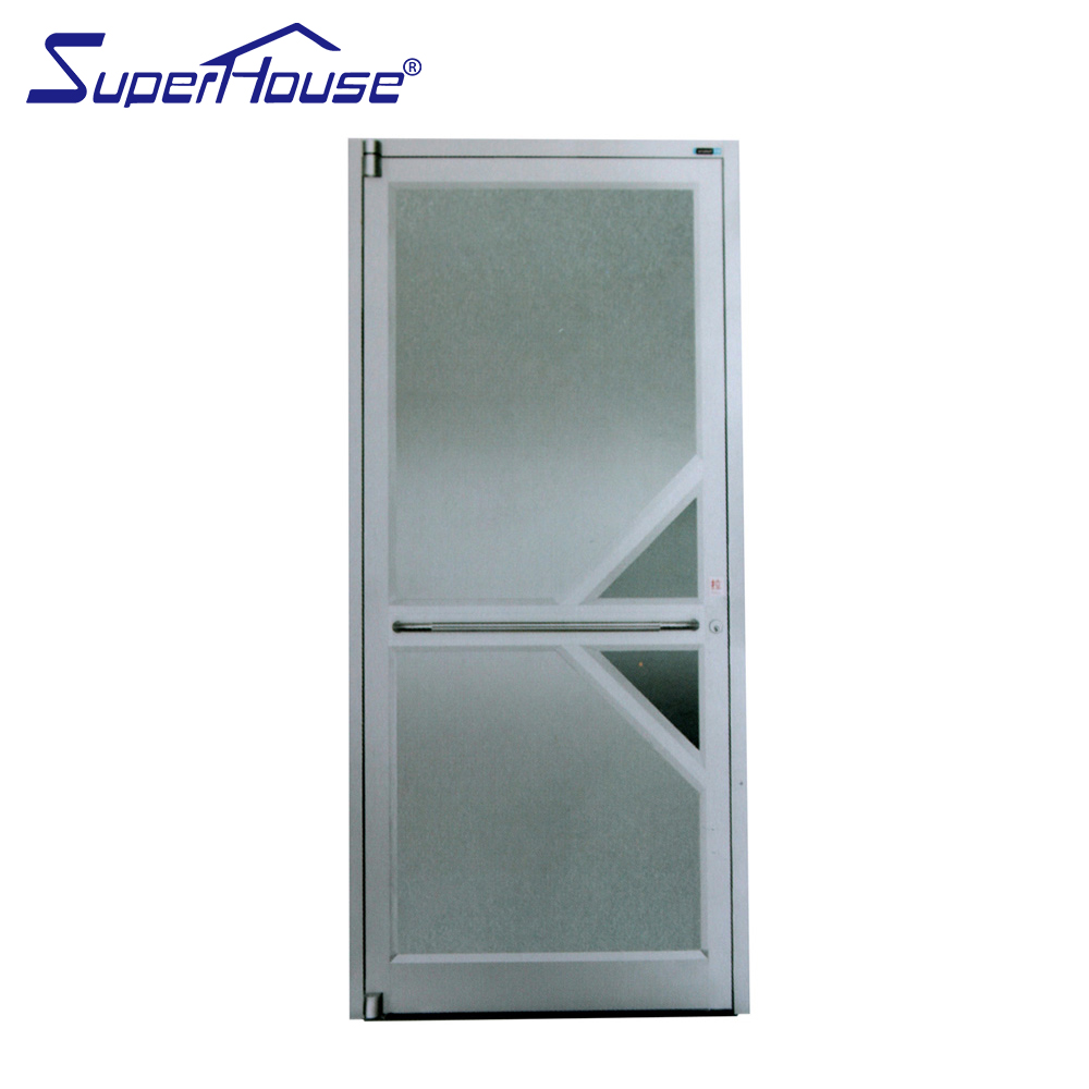 Best sale commercial casements doors hinge doors for KFC french doors aluminum alloy