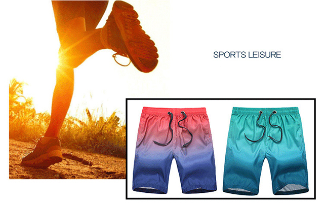fashion custom design your own sublimation printing gradient color quick dry mens swim trunks board shorts