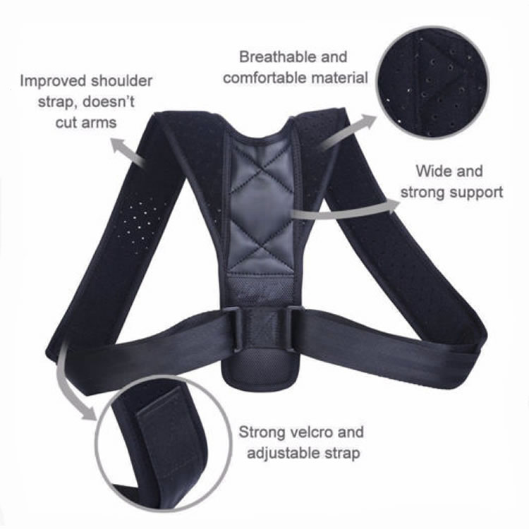 New Products Adjustable Back Brace Posture Corrector