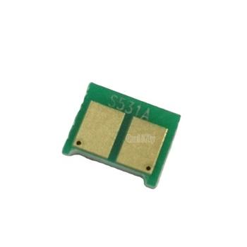 CC530A CC531A CC532A CC533A chip for laserjet toner  reset Toner cartridge  chip for hp CP2020/2024/