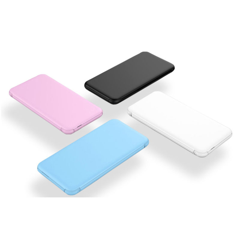 Amazon trendy products slim powerbank 5000 mah in car multi mini with high quality and best price