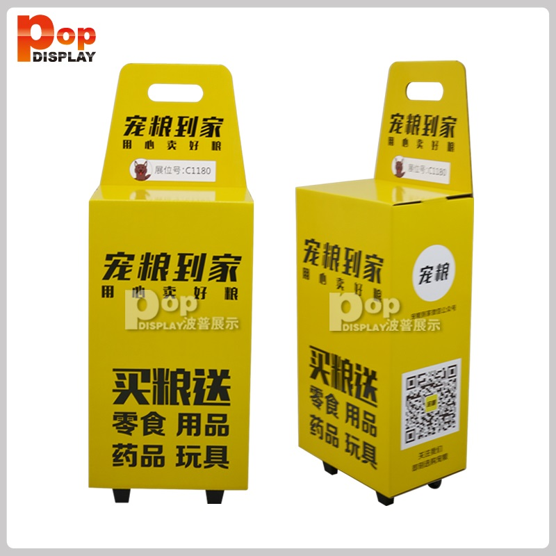 Practical Trolley Corrugated Cardboard Trolley Luggage