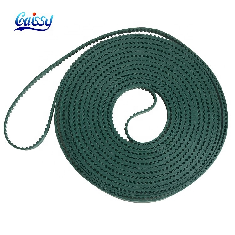 Hot Sale High Quality Special Customised Industrial OEM TPU Open End Ttiming <strong>Belt</strong> Manufacturer T5 green