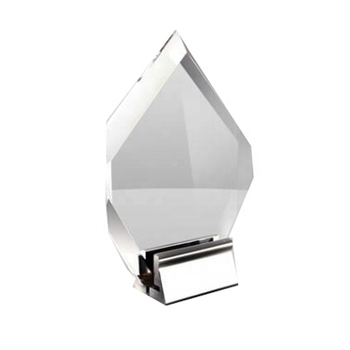 Custom shaped acrylic awards with nice price