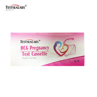 Pregnancy Home Test High Accuracy One Step HCG Pregnancy Rapid Test Cassette Utilizing Urine