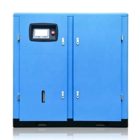 22kw 30hp 10Bar 3.7m3/min Medium Pressure screw air compressor with 18L Lubricant For PET Industry