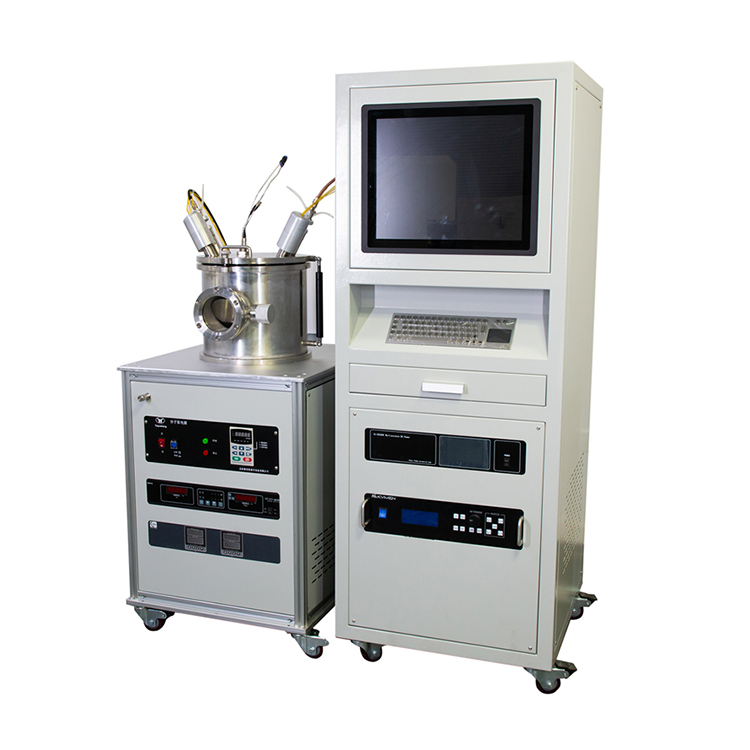 PVD magnetron sputter deposition machine for preparing single-layer or multi-layer ferroelectric thin films