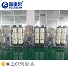 Factory Price Ozone Softener Drinking Purified UV RO Water Treatment System / Reverse Osmosis RO Pure Water Machine
