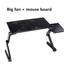 Складной портативный стол для ноутбука из алюминиевого сплава, стол для ноутбука, стол для ноутбука, подставка для дивана, поднос для книг(Китай)