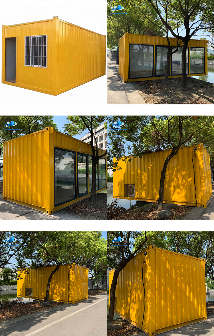 Custom prefabricated portable building mobile 10ft 20ft 40ft container coffee shop bar designs