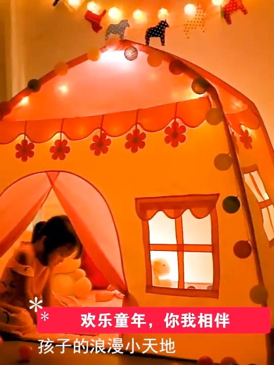 Princess castle gioca tenda Per Bambini Bambini Playhouse Bambini Playhouse per Interni Esterni con Borsa per il trasporto Portatile Playhouse