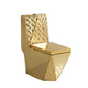 bathroom Sanitary ware golden colored wc toilet bowl ceramic gold toilet with gold toilet seat