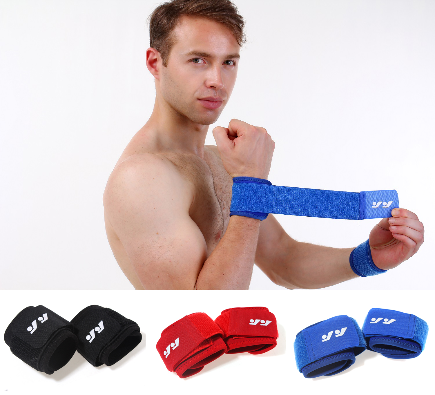 Adjustable Weight Lifting Wrist Wraps Wrist Support Strap