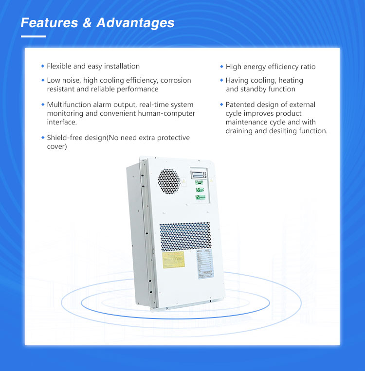Indoor Electronic Control Panel Air Conditioner with Filter