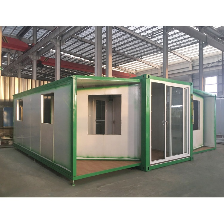 Low cost luxury prefab portable cabins living expandable container house for sale